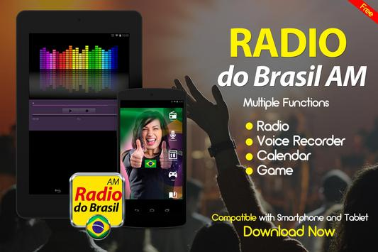 Rádios Online do Brasil Radio do Brasil AM apk screenshot