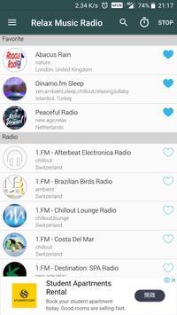 Relax Music Radio poster