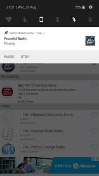 Relax Music Radio screenshot 3