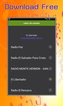 radios del salvador poster