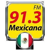 La Mexicana 91.3 Radio de Mexico Gratis Radio FM icon