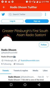 Radio Dhoom screenshot 3