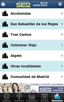 Cadena SER Madrid Norte apk screenshot
