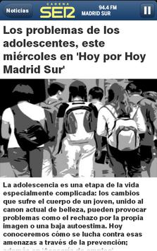 Cadena SER Madrid Sur screenshot 1