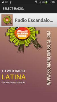 Radio Escandalo Musical screenshot 1