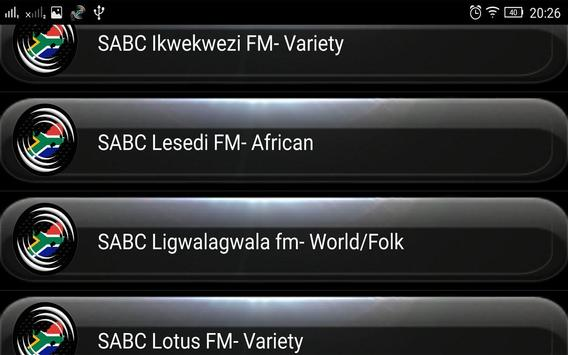 Radio FM South Africa screenshot 4