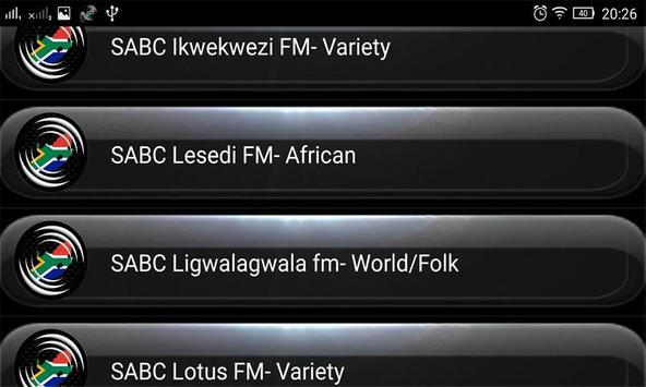 Radio FM South Africa screenshot 2