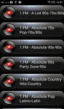 Radio FM Switzerland screenshot 6