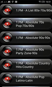 Radio FM Switzerland poster
