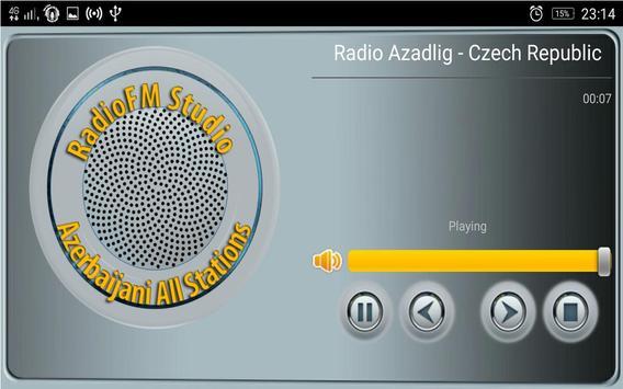 RadioFM Azerbaijani All Stations screenshot 3