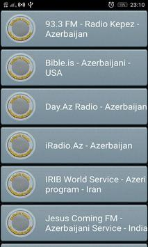 RadioFM Azerbaijani All Stations poster