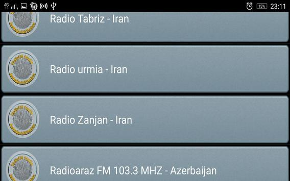 RadioFM Azerbaijani All Stations screenshot 2