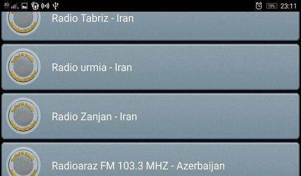 RadioFM Azerbaijani All Stations screenshot 4