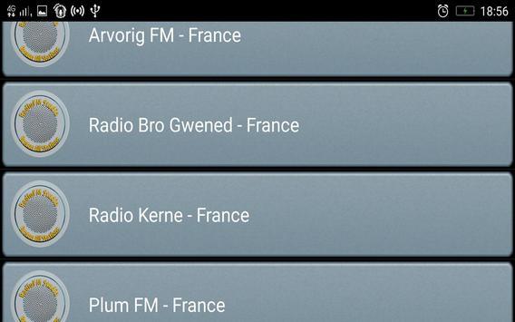 RadioFM Breton All Stations screenshot 2