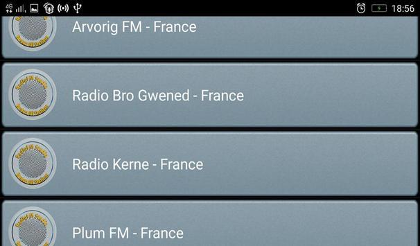 RadioFM Breton All Stations screenshot 4