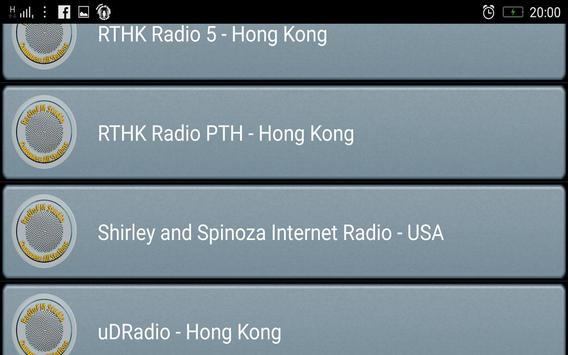 RadioFM Cantonese All Stations screenshot 2
