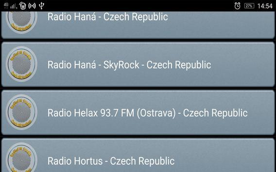 RadioFM Czech All Stations screenshot 2