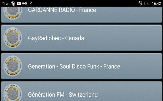 RadioFM French All Stations screenshot 2