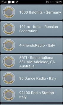 RadioFM Italian All Stations الملصق