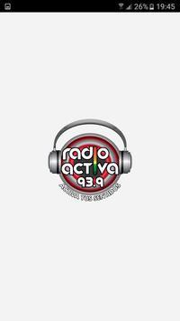Radio Activa 93.9 poster