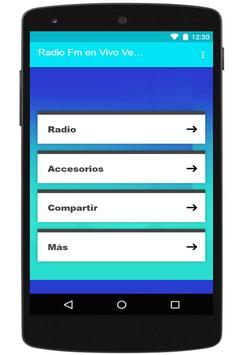 Radio Fm En Vivo Venezuelas apk screenshot