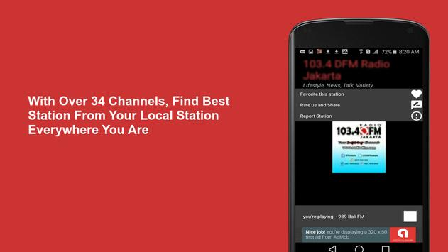 Radio Merengue Live FM Station   Merengue Music screenshot 2