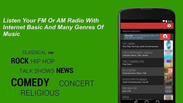 Radio Wisconsin USA Live FM Station screenshot 1