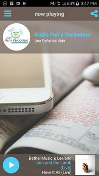 Radio Fiel y Verdadero poster