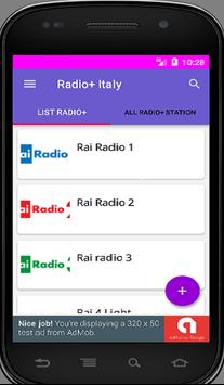radio  Italy screenshot 1