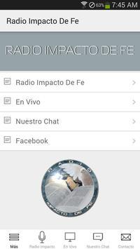 Radio Impacto DE FE poster