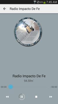 Radio Impacto DE FE apk screenshot