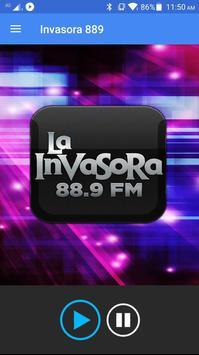 La Invasora 889 poster