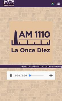 Radio La Once Diez poster