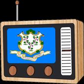 Radio FM: Connecticut USA Online 🎙️ icon