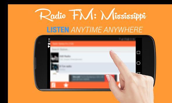 Radio FM: Mississippi Online screenshot 1