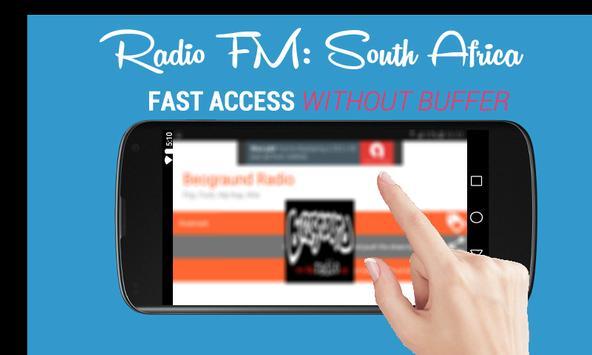 Radio FM: South Africa Online - Suid-Afrika Aanlyn poster