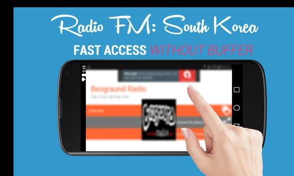 Radio FM: South Korea Online 🇰🇷 - 라디오 한국 poster