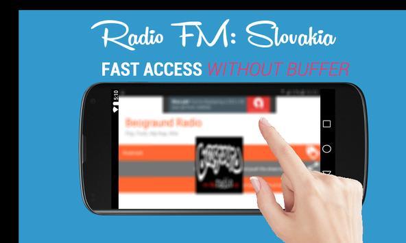 Radio FM: Slovakia Online - Rádio Slovensko 🇸🇰 poster