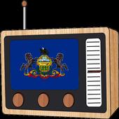 Radio FM: Pennsylvania USA Online 🇺🇸 icon