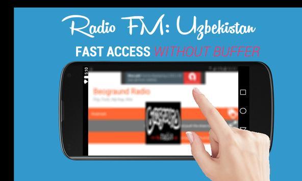 Radio FM: Uzbekistan Online 🇺🇿 poster