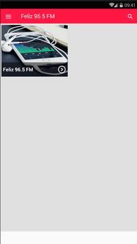 Feliz FM Rádio ao Vivo 96.5 FM Radio São Paulo screenshot 1