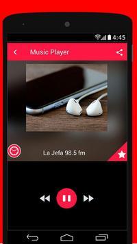 La Jefa 98.5 McAllen Radio FM Free screenshot 1