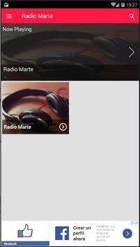 Radio Marte screenshot 3