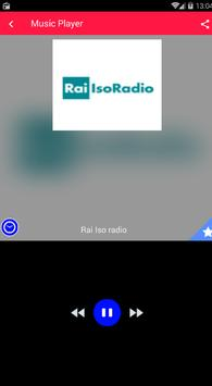 Rai Isoradio App Radio Italia screenshot 2
