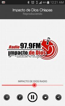 Impacto de Dios Chiapas poster
