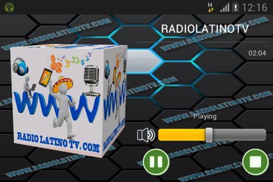 RADIOLATINOTV screenshot 1