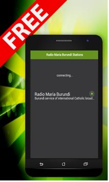 Radio Maria Burundi Stations poster