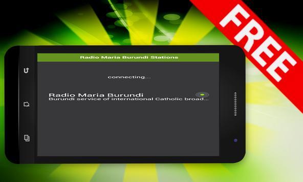Radio Maria Burundi Stations apk screenshot