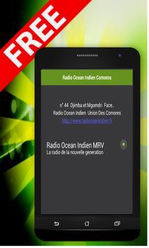Radio Ocean Indien Comoros poster