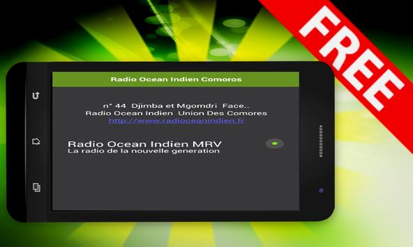 Radio Ocean Indien Comoros apk screenshot